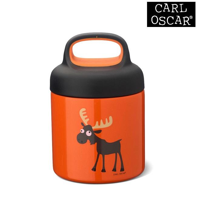 Mattermos barn Carl Oscar Lunchjar Orange Moose