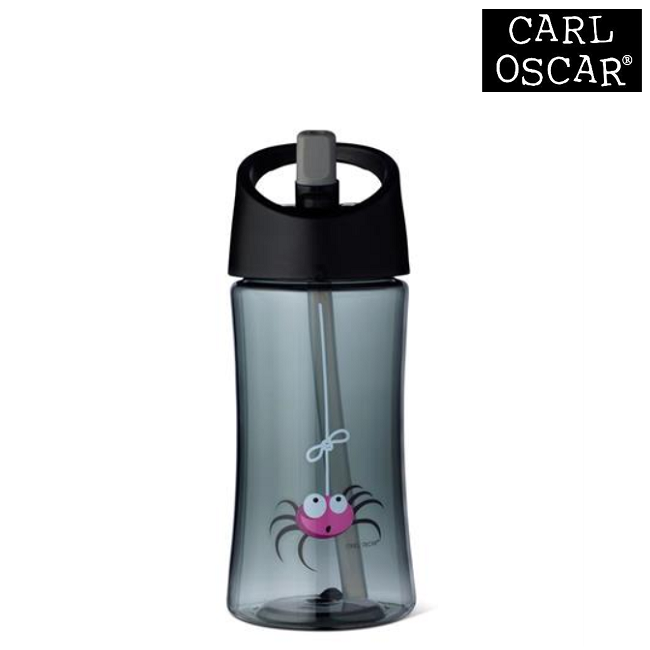 Vattenflaska barn Carl Oscar 350 ml Grey Spider