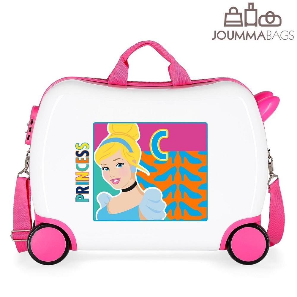Resväska för barn att åka på Cinderella