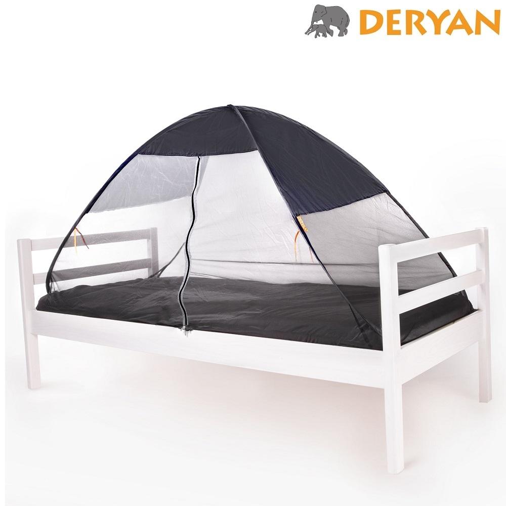 Myggnät till säng Deryan Pop-up Bedtent Grå