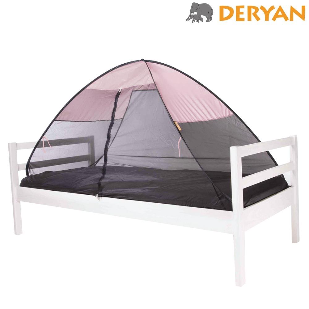 Myggnät till säng Deryan Pop-up Bedtent rosa