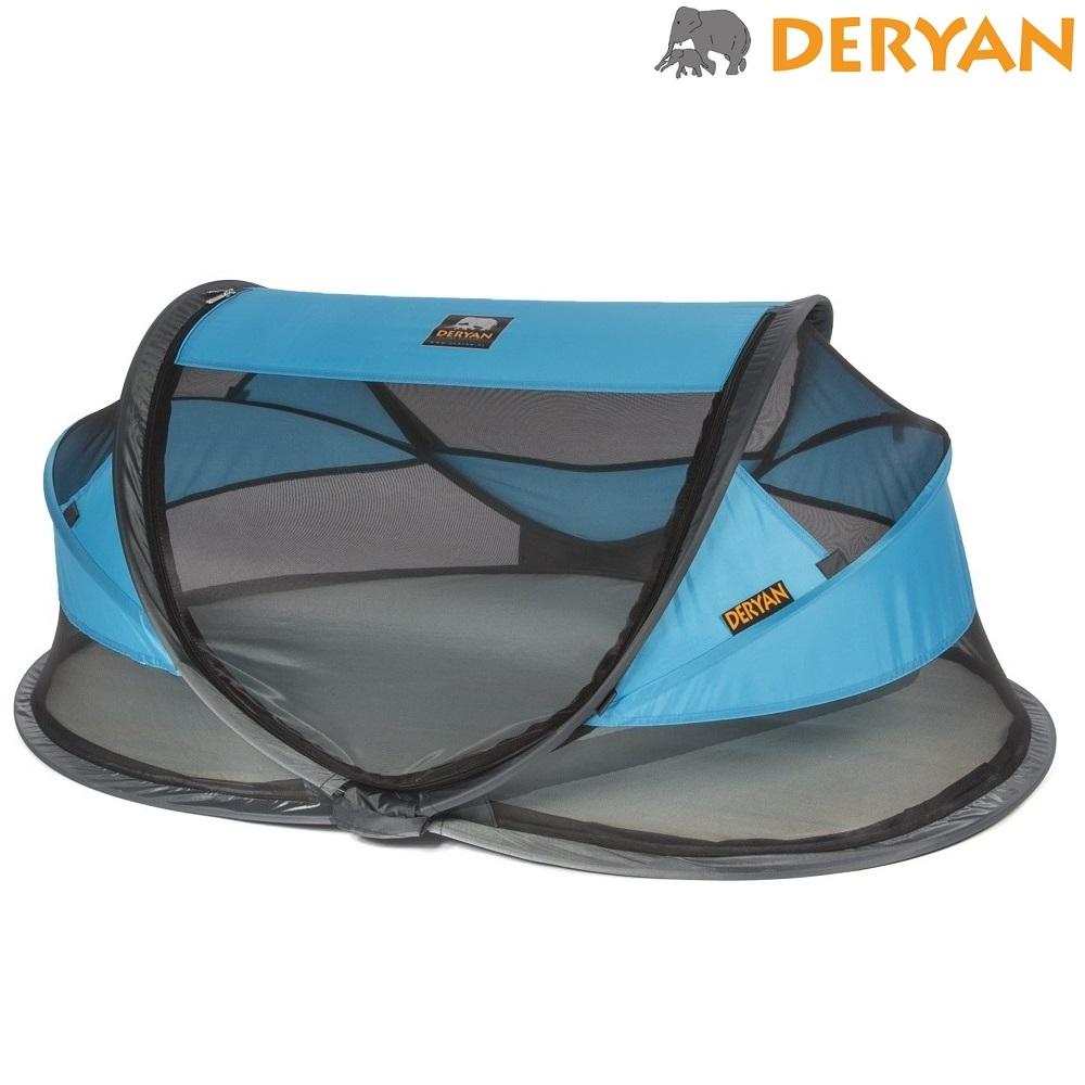 Resesäng Deryan Baby Luxe Blå
