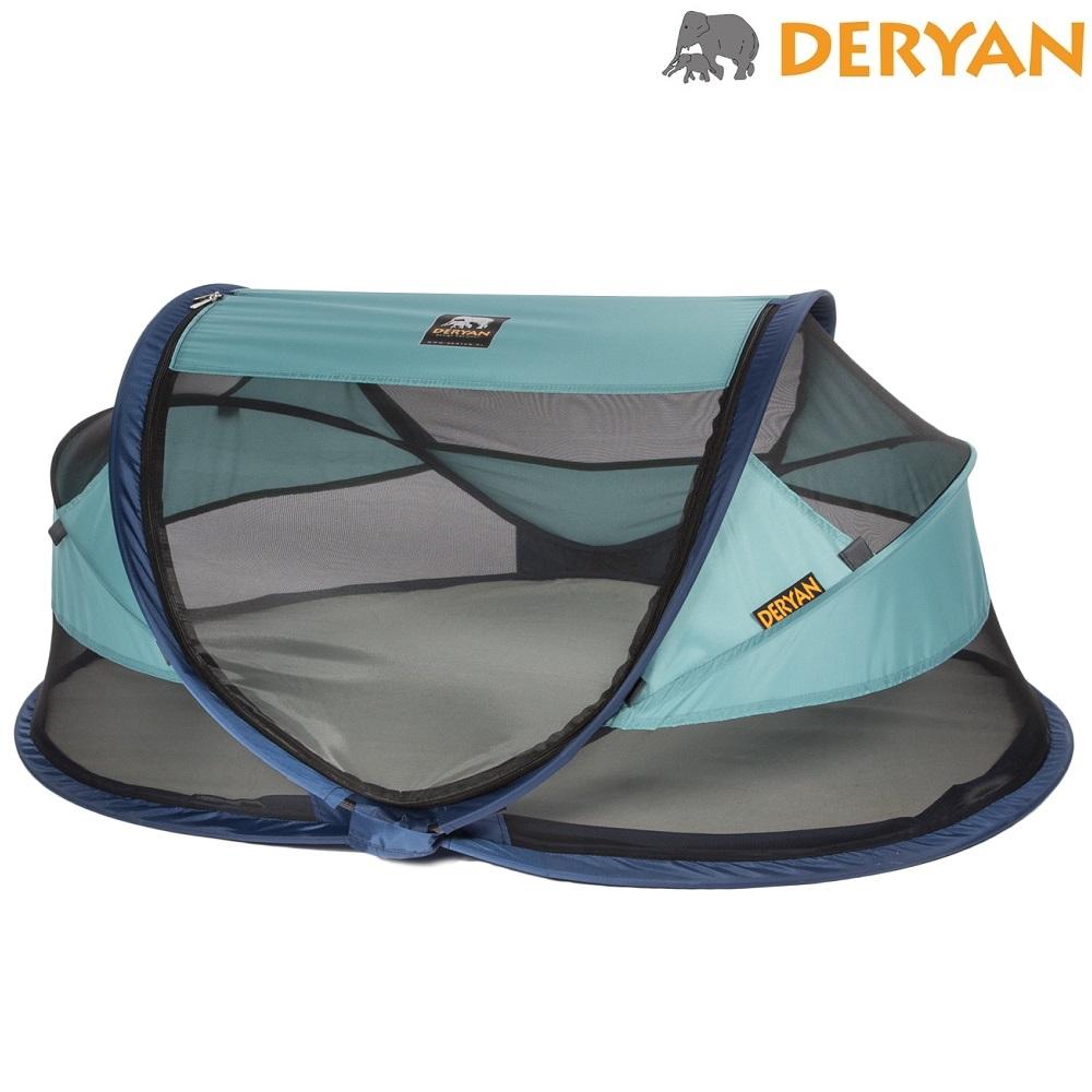 Resesäng för baby Deryan Baby Luxe Ocean Blue