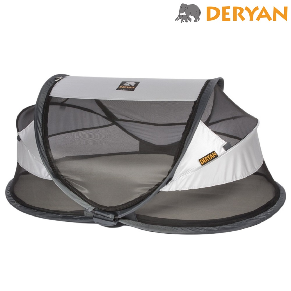 Resesäng Deryan Baby Luxe Silver