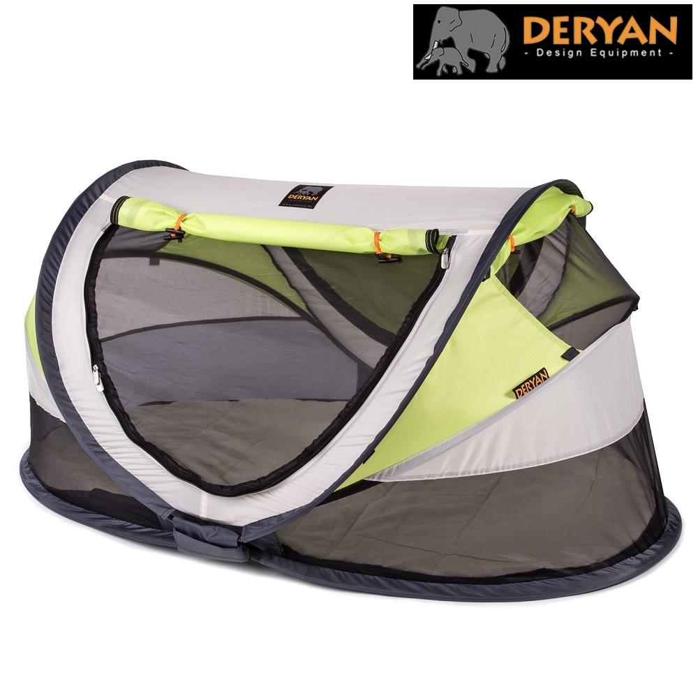 Deryan resesäng - Cream/grön