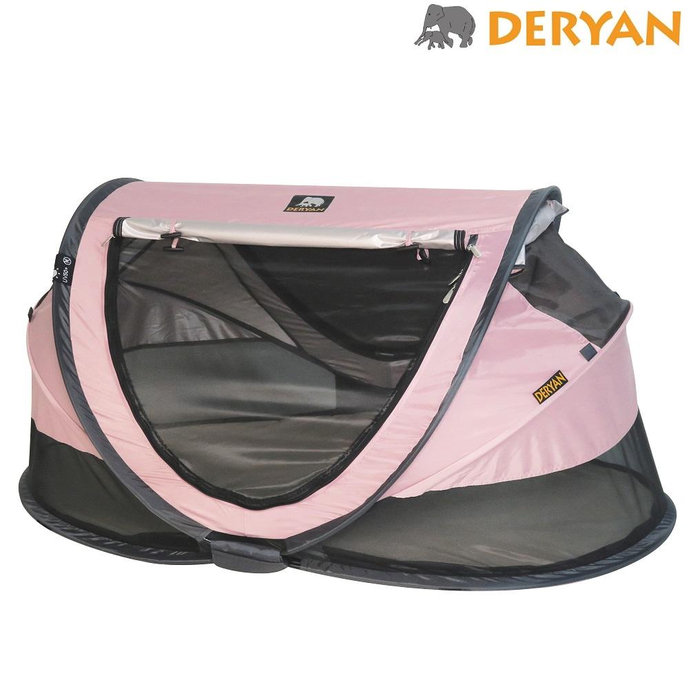 Resesäng Deryan Toddler Luxe rosa