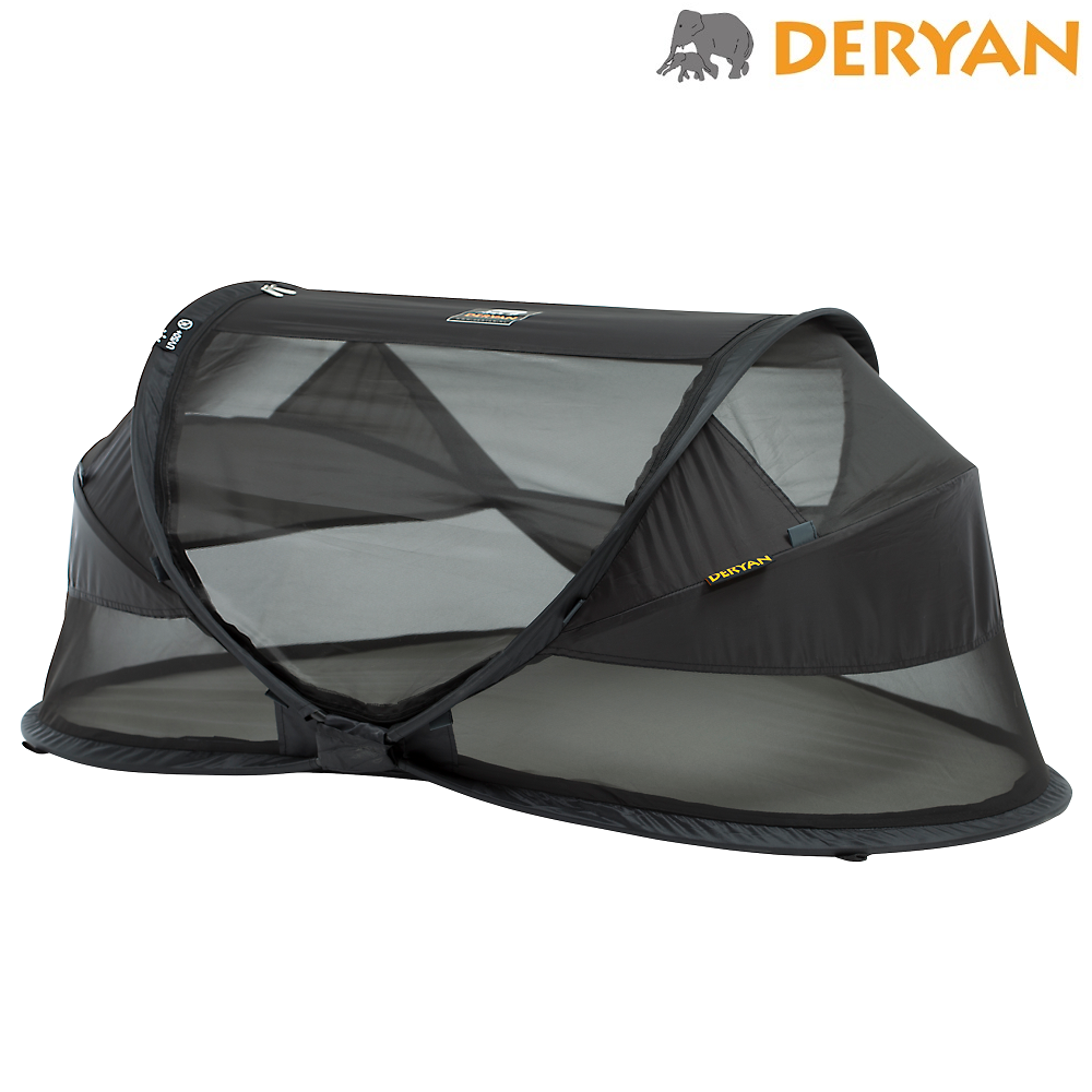 Resesäng Deryan Baby Luxe svart
