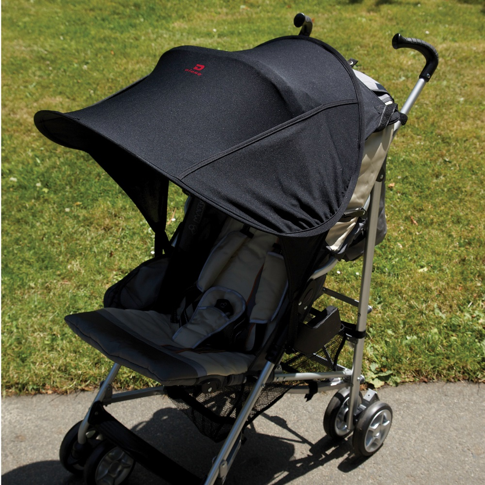 Solskydd barnvagn Diono Shade Maker svart