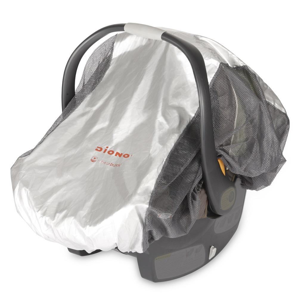 Solskydd med myggnät till barnvagn Diono
