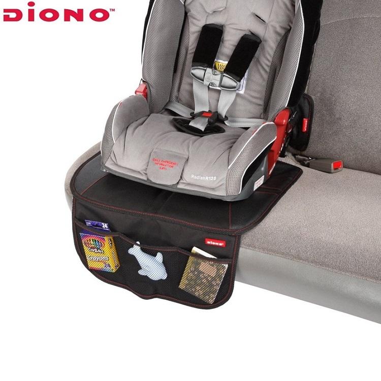 Baksätesskydd Diono Super Mat svart
