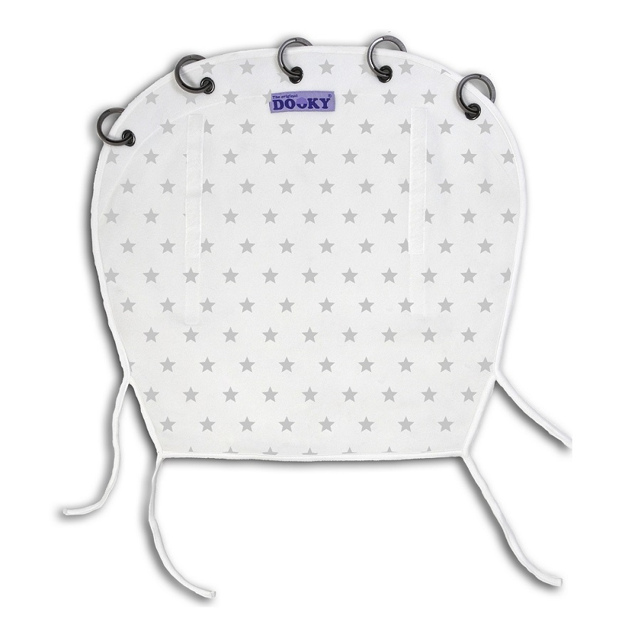 Solskydd barnvagn Dooky Design Silver Stars