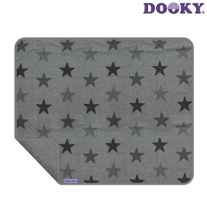 Barnvagnstäcke Dooky Grey Stars