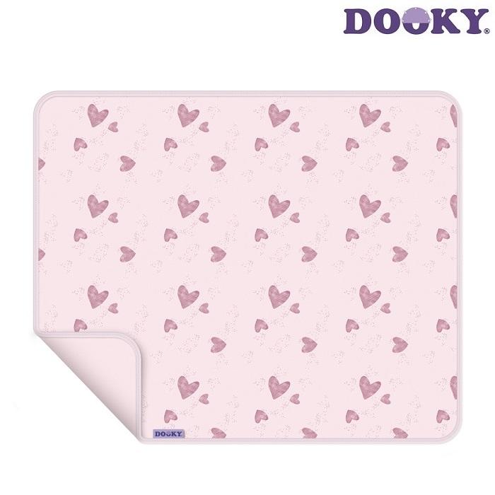 Barnvagnstäcke Dooky Pink Stars rosa