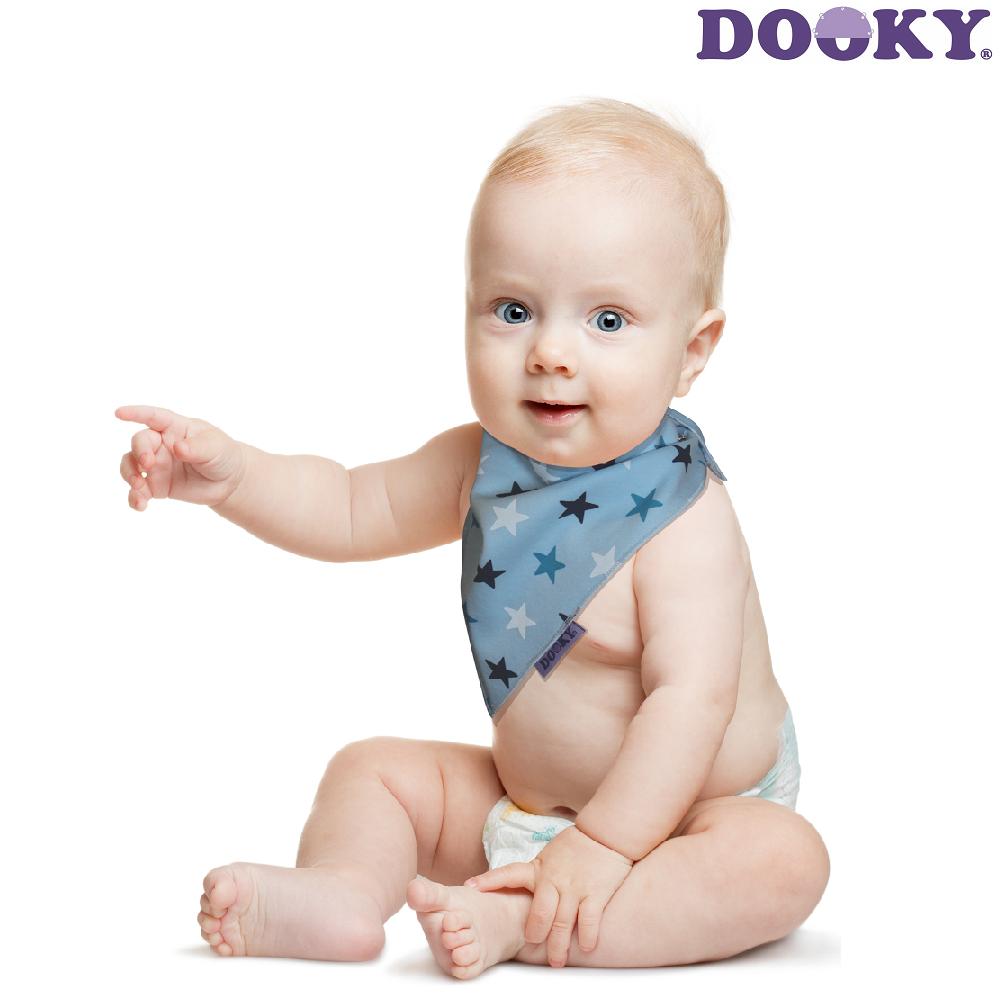 Dregglis Dooky Dribble Bib Blue Stars