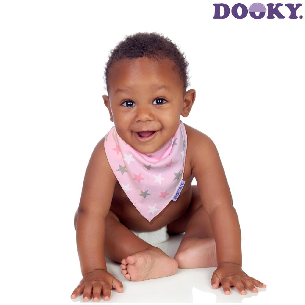 Dregglis Dooky Dribble Bib Pink Stars