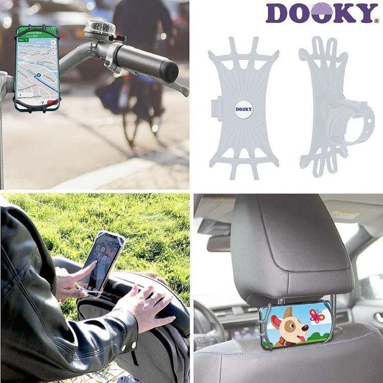Dooky mobilhållare - Transparent