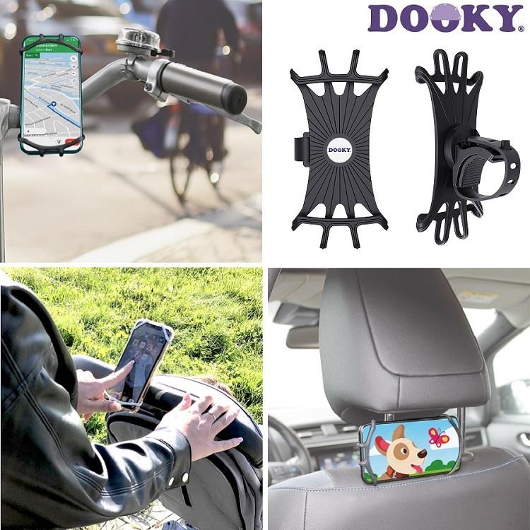 Mobilhållare Dooky svart