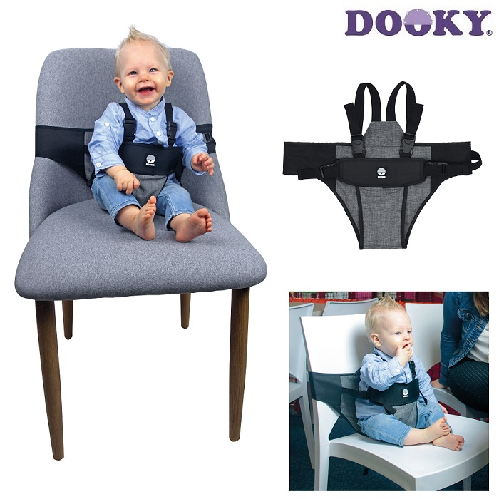 Resebarnstol Dooky Travel Chair svart