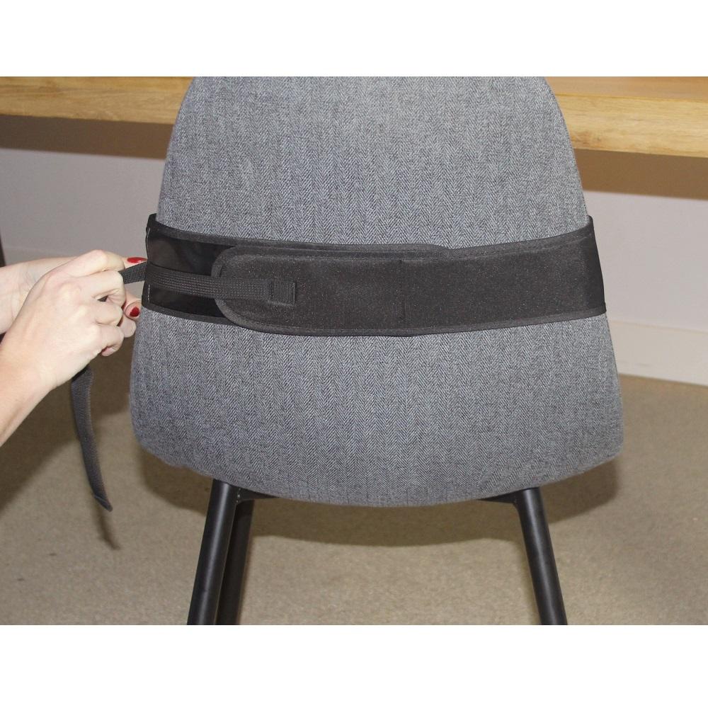 Resebarnstol Dooky Travel Chair svart