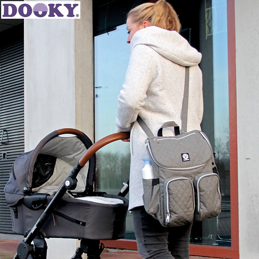 Dooky skötväska - Diaper backpack 2 in 1