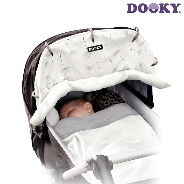 Solskydd barnvagn Dooky Dandelions