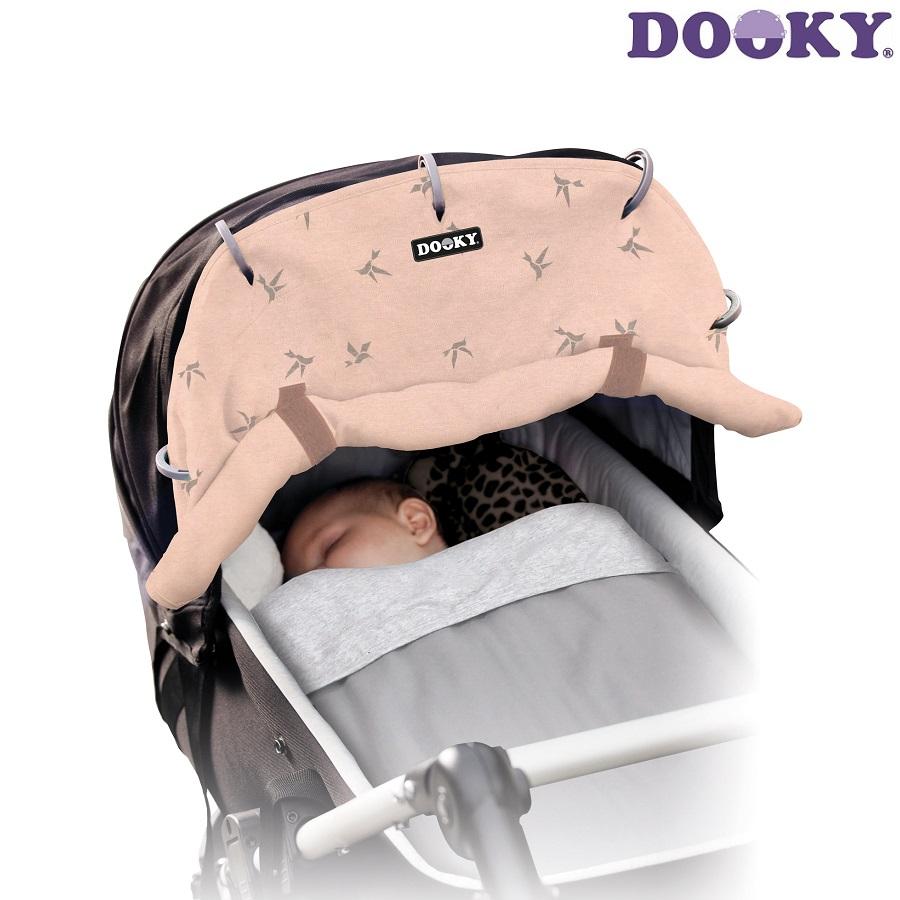 Solskydd barnvagn Dooky Design Rosé Swallow