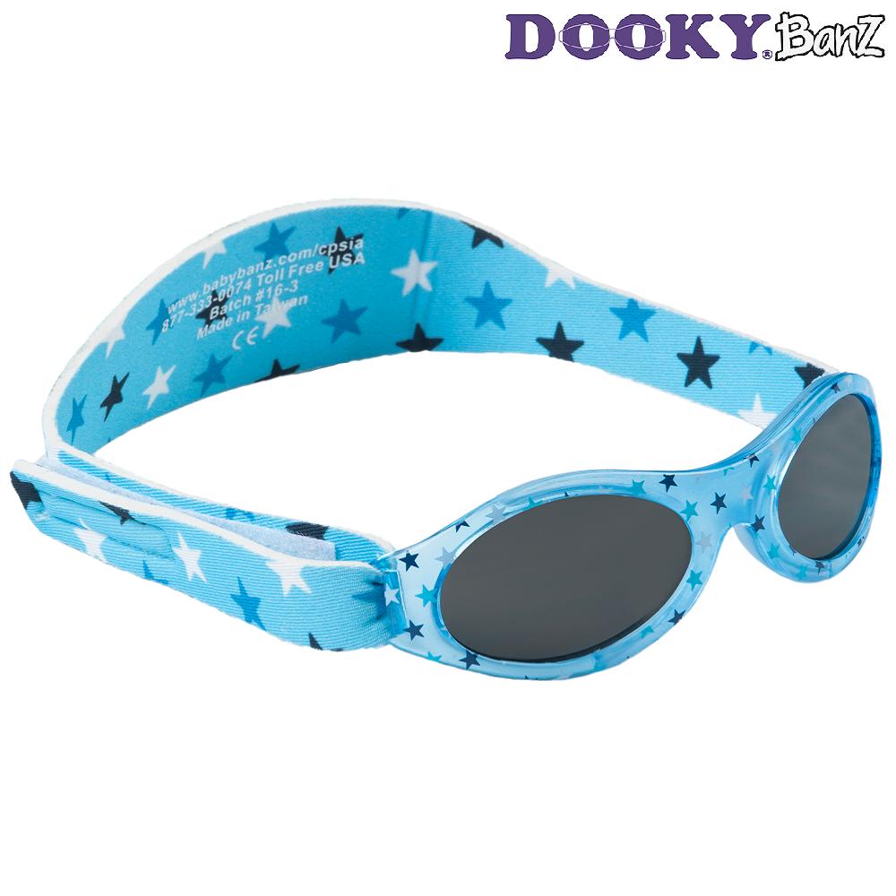 Solglasögon barn DookyBanz Blue Stars