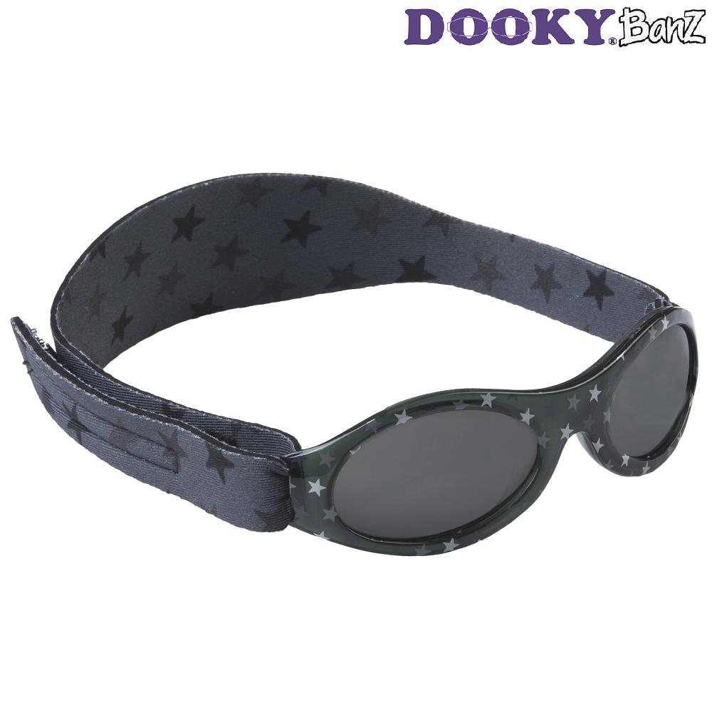 Solglasögon barn DookyBanz Grey Stars