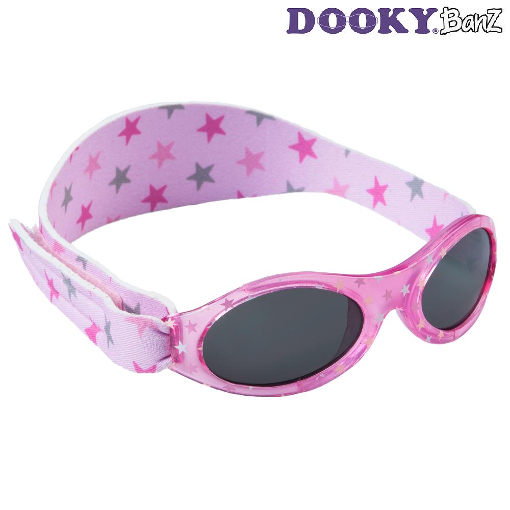 Solglasögon barn DookyBanz Pink Stars