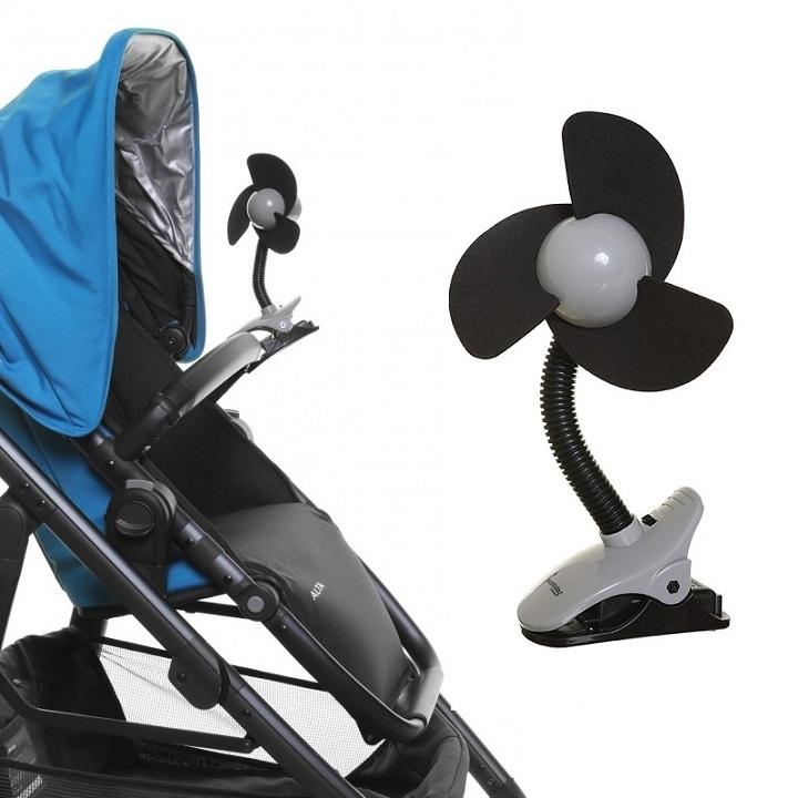 Barnvagnsfläkt DreamBaby svart