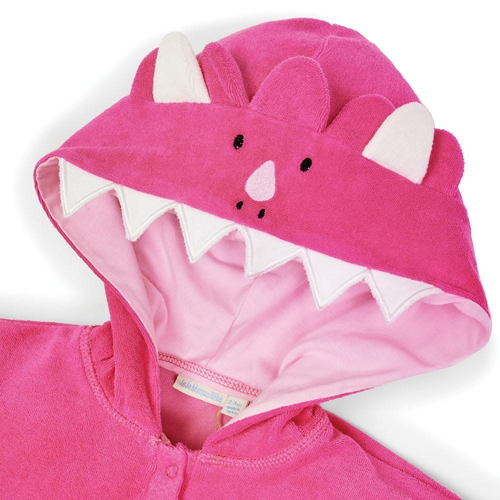 Badponcho Dino Pink