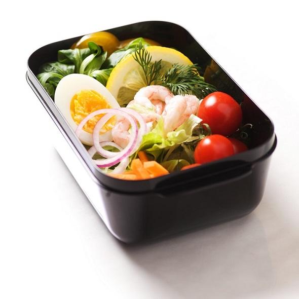 Matlåda Frozzypack utan lock med mat