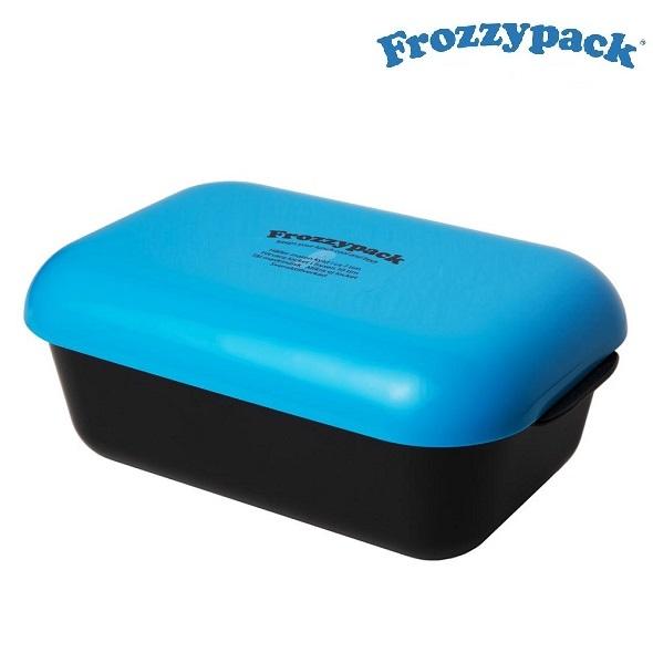 Matlåda med kylelement i locket Frozzypack Blå