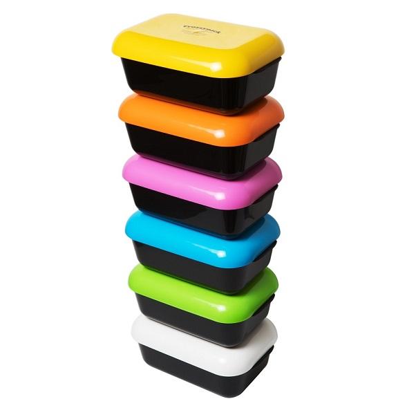 Matlådor Frozzypack i olika färger