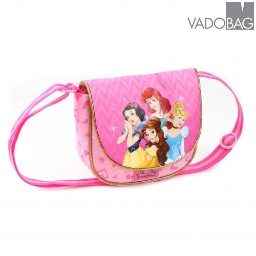 Handväska barn Disney princessor rosa