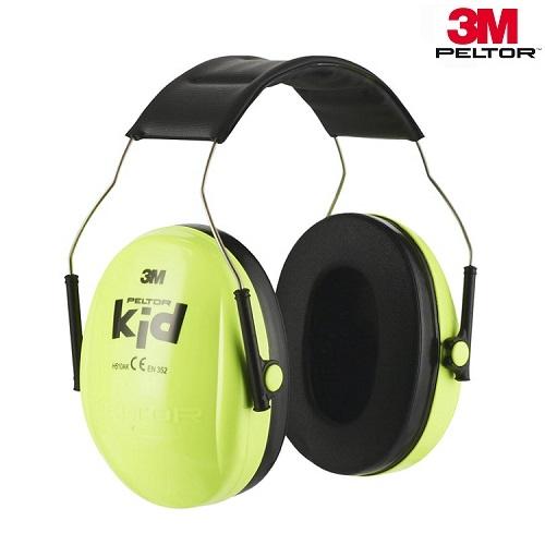 Hörselkåpor för barn 3M Peltor Kid gula
