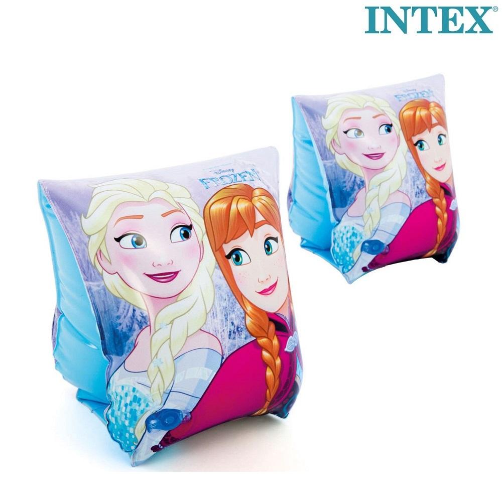 Frost armpuffar för barn med Elsa och Anna