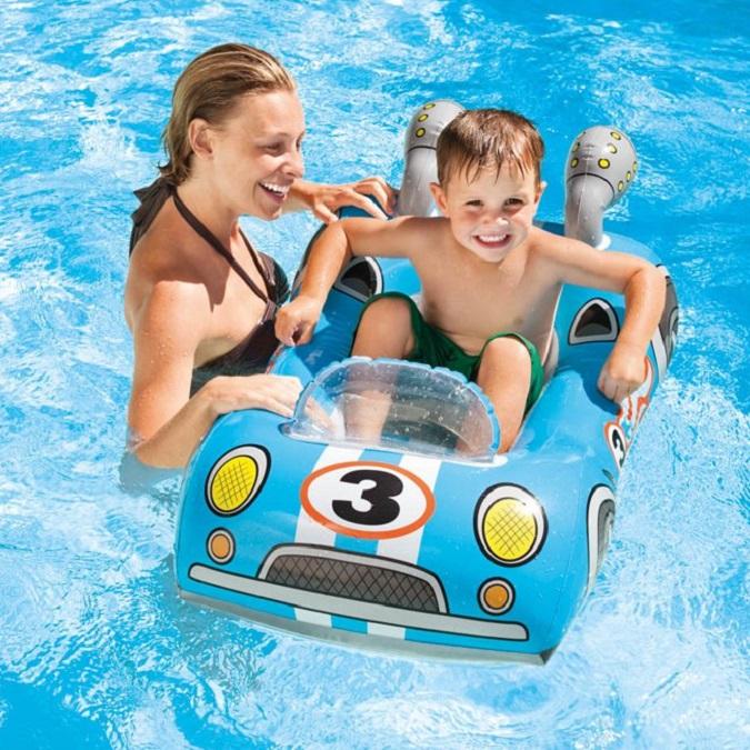 Badleksak Intex Pool Cruiser Bil