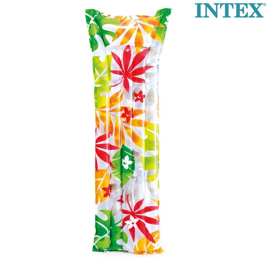 Badmadrass Intex Tropical Djungle