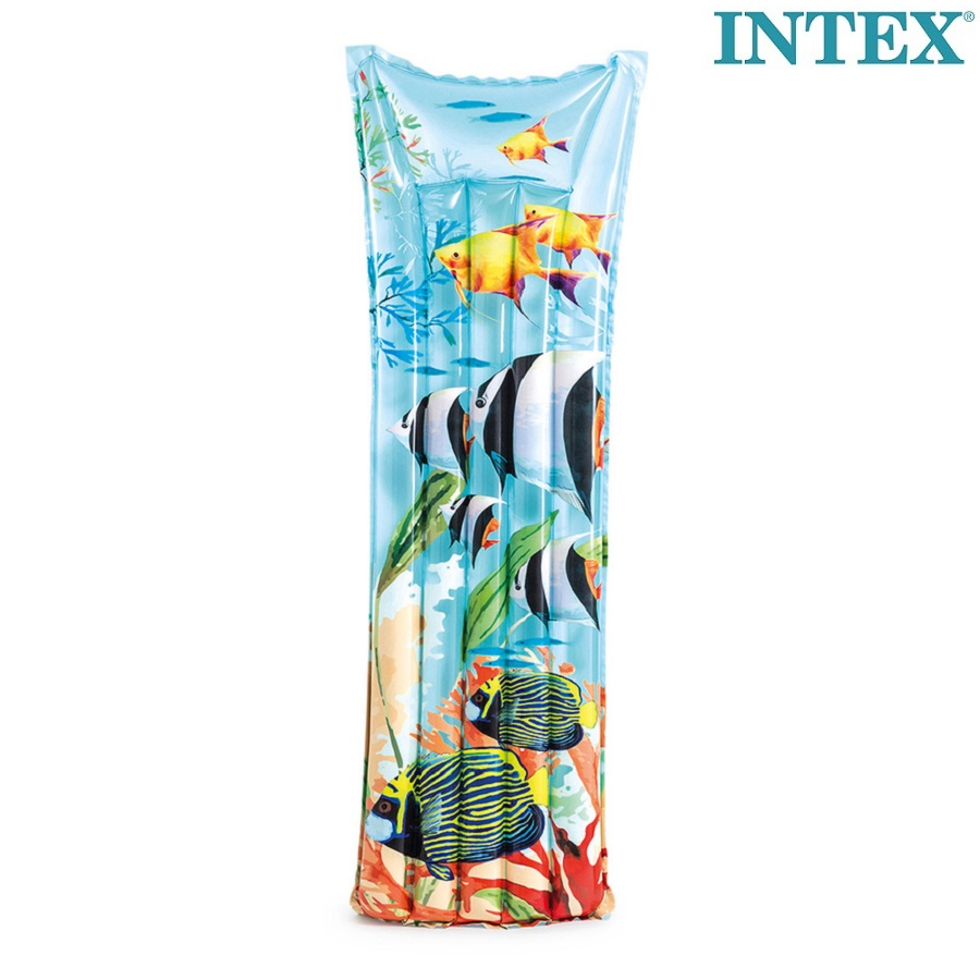 Badmadrass Intex Tropical Fish