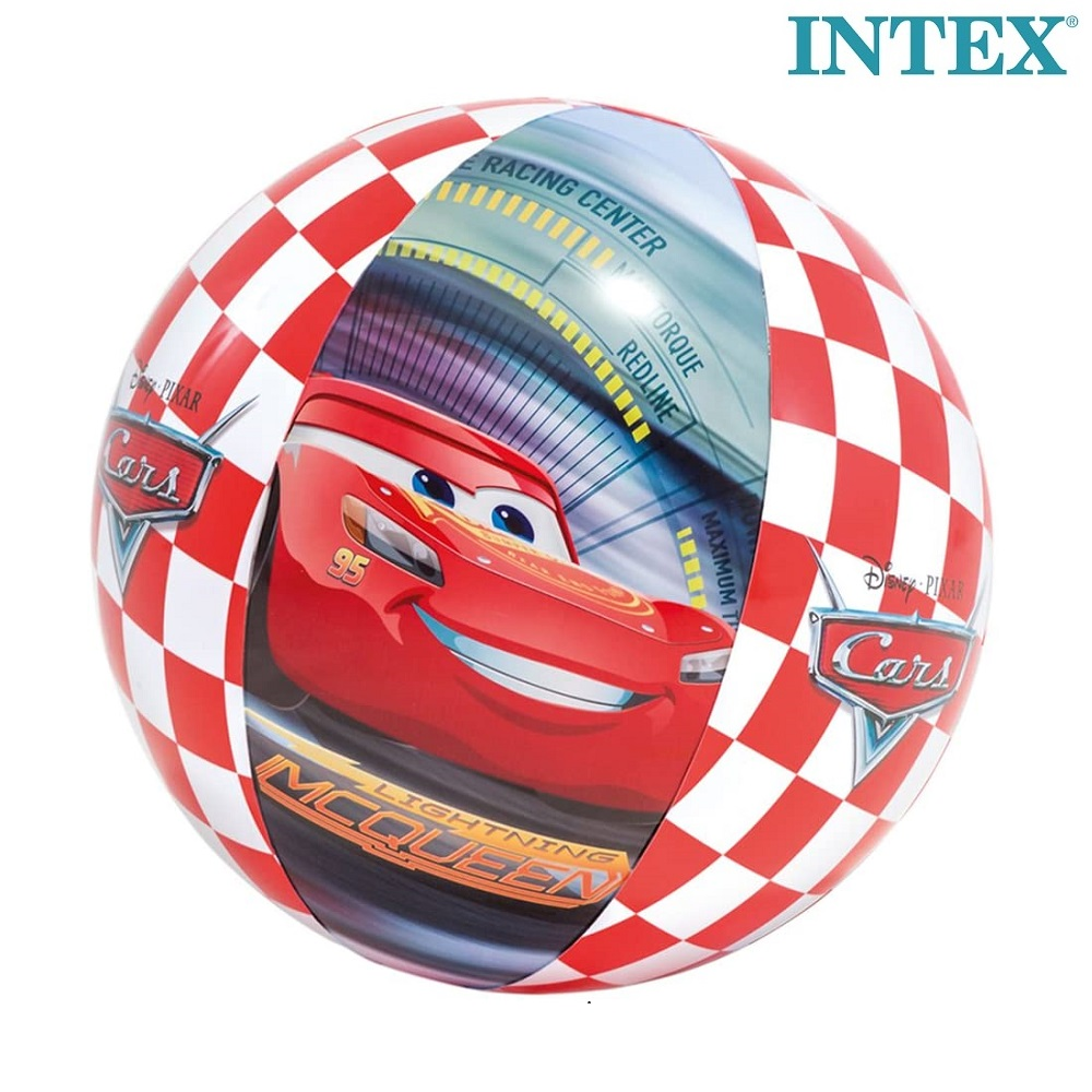 Bilar uppblåsbar badboll med Blixten McQueen