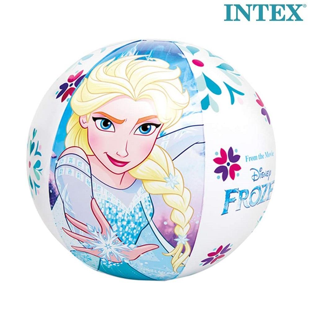 Frost uppblåsbar badboll Elsa och Anna