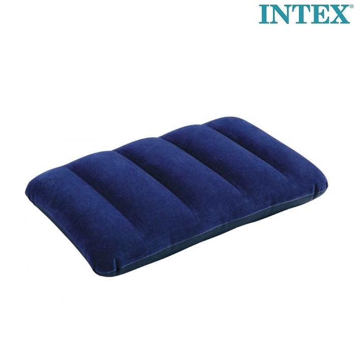 Intex uppblåsbar resekudde blå