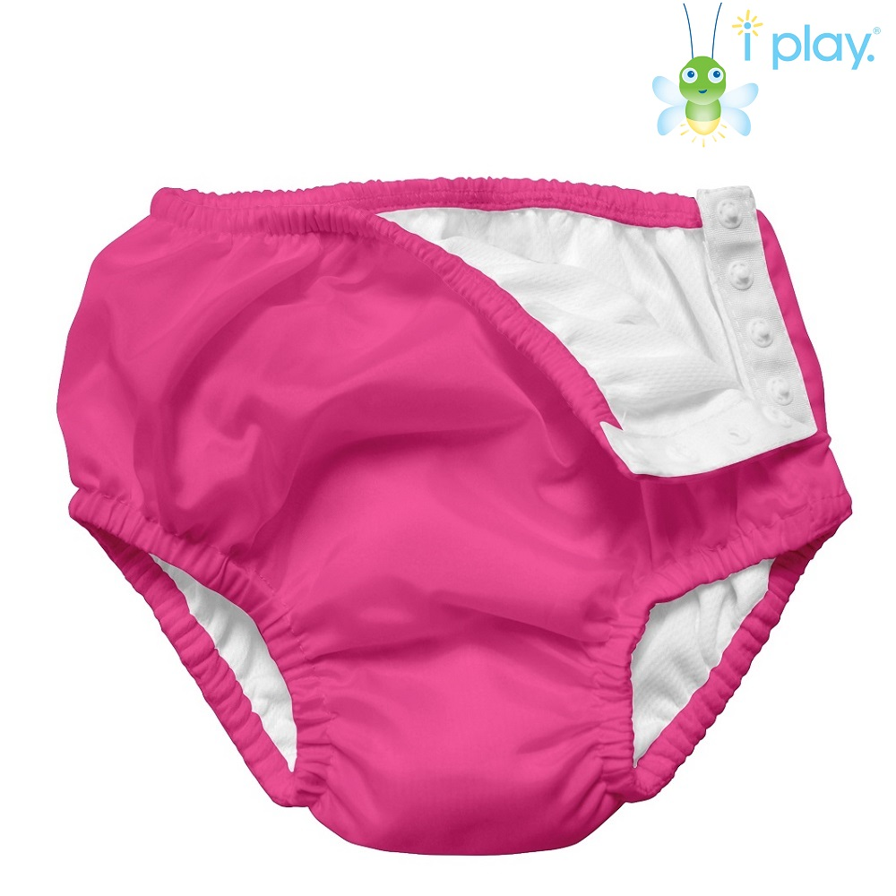 Badblöja Iplay Navy Hot Pink rosa