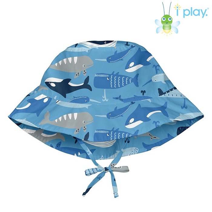 Solhatt barn Iplay Blue Whale