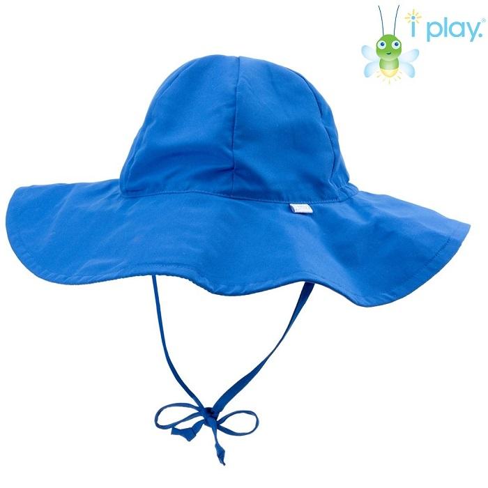 Solhatt barn Iplay Brim Royal Blue