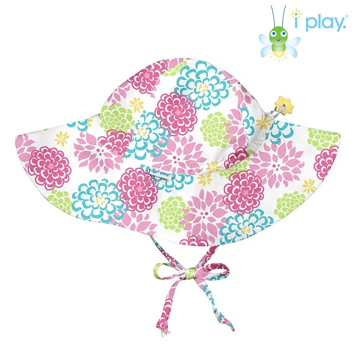 Solhatt barn Iplay White Zenia