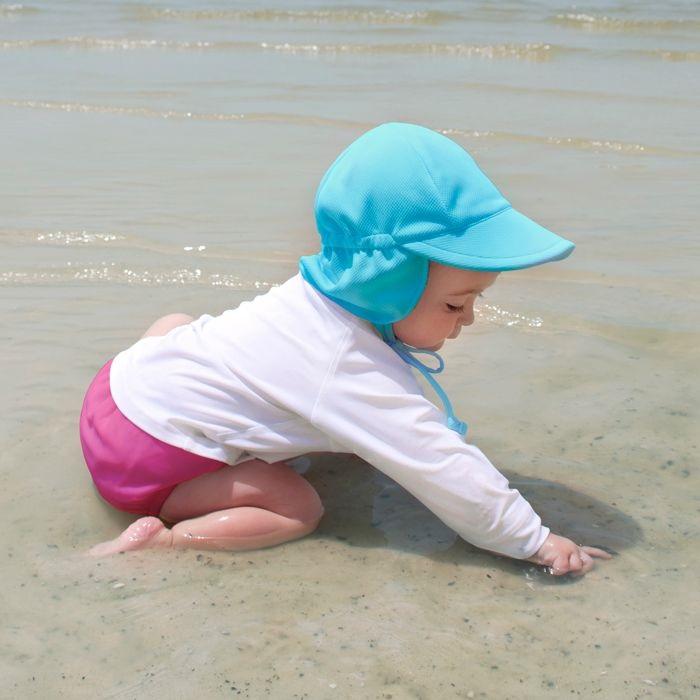 Solhatt barn Iplay Aqua Blå