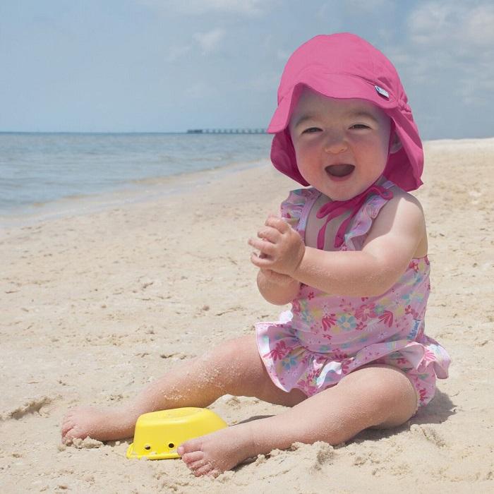 Solhatt barn Iplay Hot Pink rosa