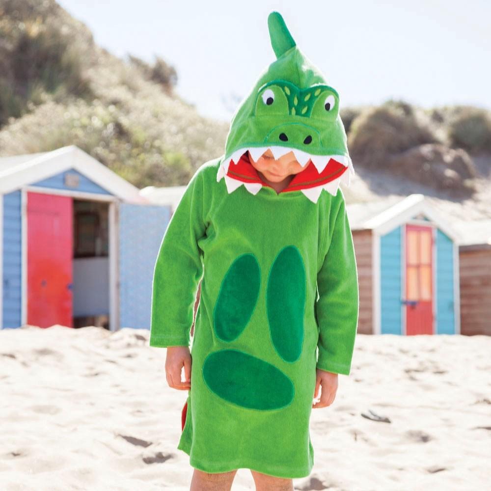 Badponcho Dino Green